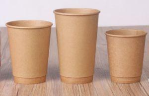 مستهلكة [فوود-غرد] مزدوجة [كرفت] قهوة [ببر كب] مع أغطية