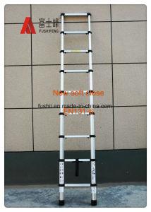 ladder van de Stap van het Aluminium van 3.8m de Telescopische Vouwende met en131-6