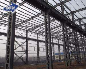 Fácil ensamblar el edificio prefabricado de la estructura de acero para el supermercado