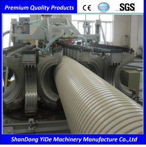El PVC/PE de pared simple y doble tubo corrugado que maquinaria