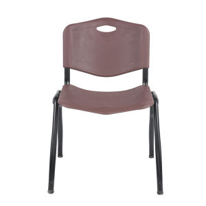 金属フレームに会うための現代プラスチックオフィスの椅子