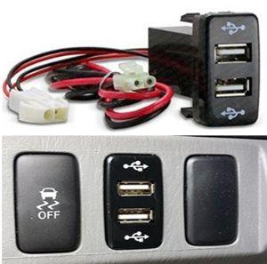 Auto Parts de toma de corriente USB USB para Toyota