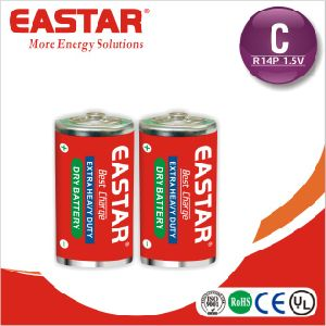 Super alta resistencia batería seca C/R14/UM2