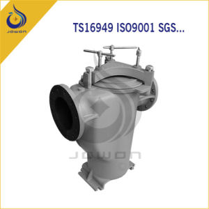 Usinagem CNC Fundição de Ferro Maquinaria Agrícola Corpo da Bomba
