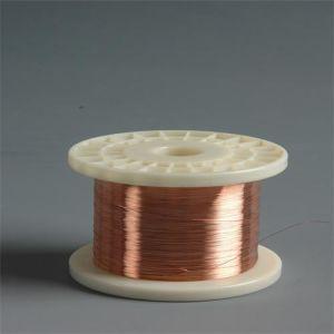 Fio de alumínio revestido de cobre de refeições no carretel de plástico