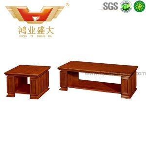 ベニヤの木の臨時のベンチの茶表の現代コーヒーテーブル(HY-912)