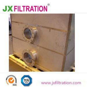 Coude de la grille filtre tamis pour enlever les solides