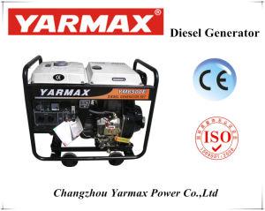 최고 가격을%s 가진 5.8kVA Yarmax 열려있는 디젤 엔진 발전기