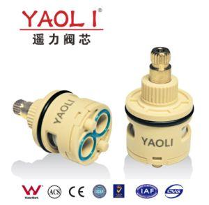 31mmのダイバーターの2つの機能(スイッチ)の陶磁器のバルブ・コア(YLD31-01)
