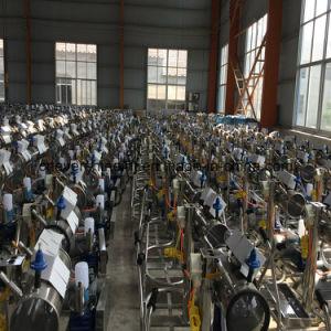 販売のための移動式ステンレス鋼の乳牛搾り出す機械