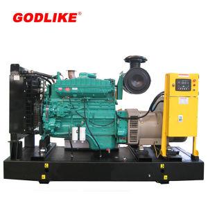313 kVA/250kw Gerador Diesel Cummins Tipo Aberto com marcação CE/ISO
