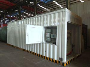 stazione di servizio di riempimento del combustibile mobile del contenitore del Portable di 40FT e di 20FT