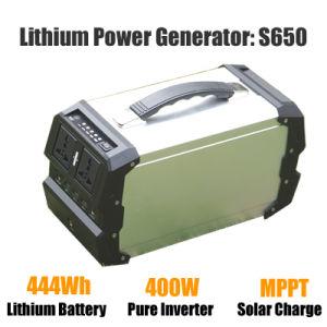 Sistema Solar Portátil Gerador de Energia Solar multifuncional 400W para camping