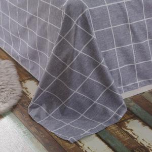 新しいデザインMicroiberの羽毛布団カバー敷布のホーム織物