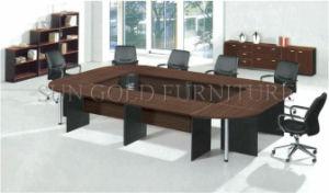 Bureau moderne en forme de u des tables de conférence salle de