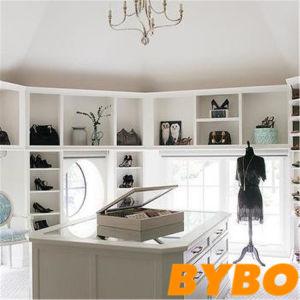 Preiswertes Kd Entwurfs-modernes Großhandelsmelamin-hölzerne Schlafzimmer-Garderobe