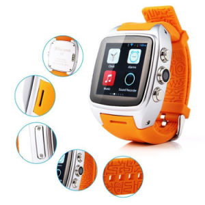 Gelbert X01 3G WCDMA WiFi GPS reloj teléfono inteligente Android