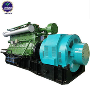 gassificatore della biomassa della centrale elettrica della biomassa 1MW e generatore applicati della biomassa