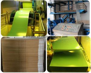 Positivo de alimentación de la fábrica de color verde de placa PS