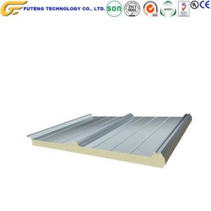 Fábrica de fabricación de materiales de construcción sándwich de lana de roca Panel del techo de pared