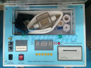 Tester dell'olio di Bdv per la prova 0-80kv di tensione di ripartizione dell'olio del trasformatore