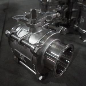 Tri montaggi sanitari del morsetto dell'acciaio inossidabile per la strumentazione dell'estrattore
