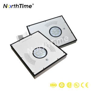 15W LED de control automático del sensor de movimiento de las luces solares para exteriores