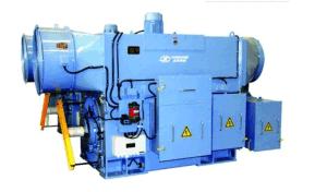 2mv het lucht-lucht dubbel-Gevoed Koelen, de Generator van de Macht van de Wind Asynchrouous