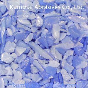 Il grano abrasivo di ceramica del corindone blu per legato/ha ricoperto gli abrasivi