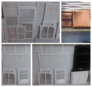 Luft-Luftauslass-Gitter für Seitenwand-Gebrauch HVAC-System