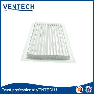 Grelha de ventilação em alumínio Linear, Grelha Linear com colector de escape