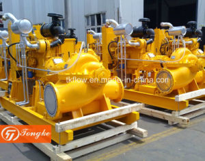Motor diesel bomba de agua para el Control de Inundaciones de la ciudad