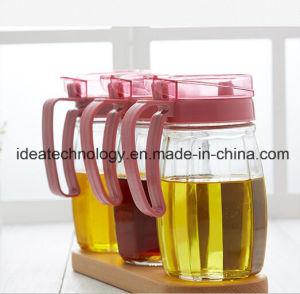 De beste Flessen van de Olie van de Saus van de Opslag van het Glas van de Prijs met Plastic GLB