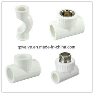 Color blanco, PPR accesorios de tubería con precio competitivo nuevo material