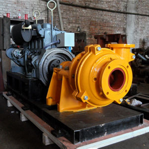 100zjd Diesel Drive Slurry Pumping Industry Pump