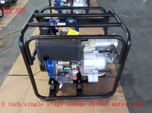 Water Treatment Use (KDP30S)のための3インチSingle Stage Sewage Diesel Water Pump