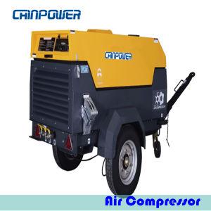 25kw Portable Air Compressor met Dieselmotor Kubota d1105-t-E3b
