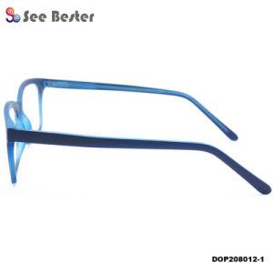 Het hete Verkopende Unisex- Vierkante Plastic Optische Cp van het Frame van de Glazen van het Oog Frame van Eyewear van de Injectie