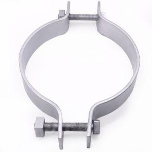 Adaptador de la línea de transmisión Mantenga Polo Hoop abrazadera para cable eléctrico