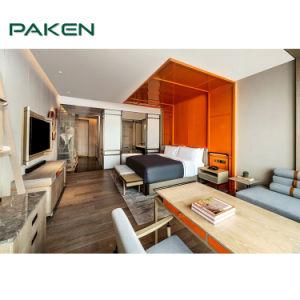 Novo design do Hotel Hilton de 5 estrelas Mobiliário de quarto para o conjunto de cama
