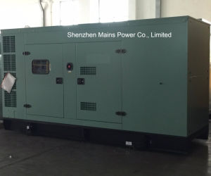 310ква рейтинг ожидания дизельного двигателя Cummins генератор звуконепроницаемых электроэнергии