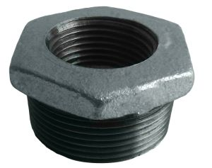 Acessórios para tubos de ferro fundido maleável Bucha Sextavada 241