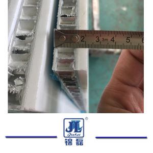 Calacatte Marmeren Composited met de Kam van de Honing van het Aluminium/het Glas van het Graniet Ceramin/voor de Bevloering van de Bekleding van de Muur