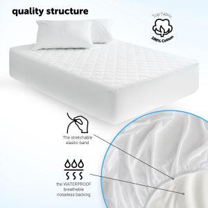 Best Seller Queen Size Colcha protector de colchón impermeable