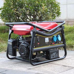 Bisonte (Cina) BS7500V (H) generatore rotondo della benzina di inizio di tasto del blocco per grafici