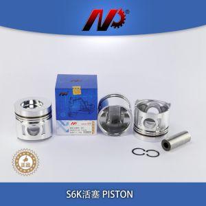 幼虫S6KTのための小型掘削機の建設用機器のエンジン部分の予備品はさみ金キット
