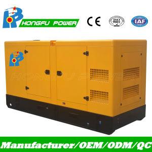 Бесшумный дизельного двигателя Cummins генераторная установка 120квт 132 квт 150 ква 165ква