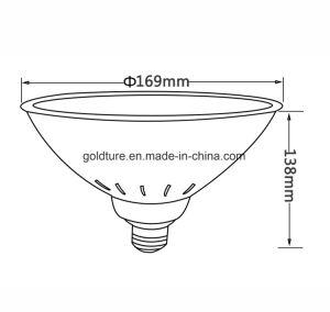 Lampada subacquea 25W 35W dell'indicatore luminoso 12V E27 Pentair del raggruppamento LED