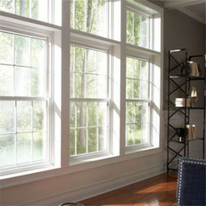 Nuevo diseño de vidrio precios baratos de la ventana de aluminio grande