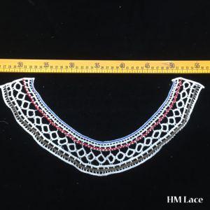 30*18cmのDress Lace Trimming Colored簡単な網様式の綿カラーレースファブリック美しく小さい襟足のレースの優雅な女性カラー高品質Hm2028
